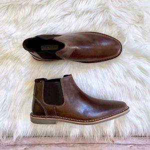 Steve Madden Impass Chelsea Dark Brown Mid Boots
